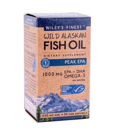 wild Alaskan fish oil