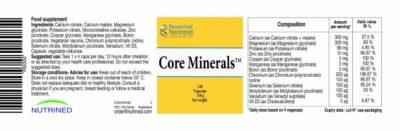 balanced minerals